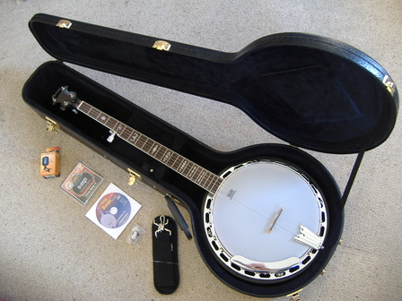 Banjo Bueboy HARD CASE Package  www.banjos.co.nz / Artiste Banjos NZ